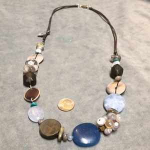 NWT Silpada necklace N2228 Sterling Silver/Stones